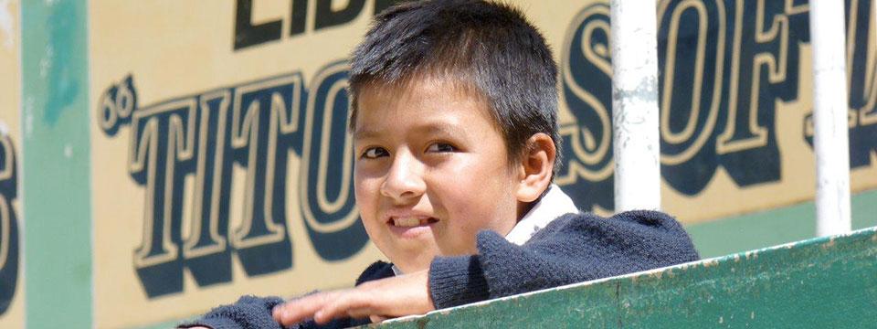 Page des projets d'Enfants du Monde au Pérou